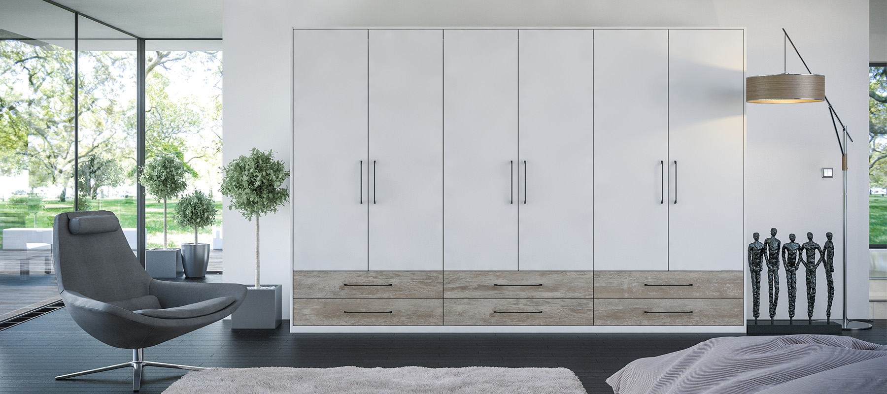 Zurfiz Wardrobe Doors & Replacement Wardrobe u0026 Kitchens Doors - Doors Sincerely