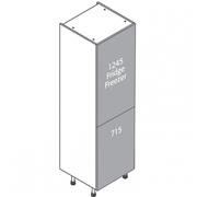 Clic Box 2 Door Fridge Freezer