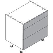 Clic Box Three Drawer Base
