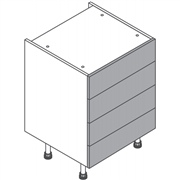 Clic Box Four Drawer Cabinet