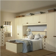 Fitted Bedroom with Newport Bedroom Doors Finished in Vanilla
