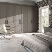Bella Tullymore Matt Stone Grey Fitted Bedroom