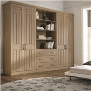 Bella Broadway Odessa Oak Fitted Bedroom