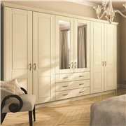 Bella Surrey Alabaster Wardrobe Doors