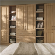 Bella Tuscany Steinberg Beech Fitted Bedroom