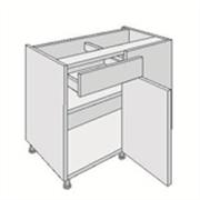 drawer line corner base unit