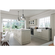 Oakgrain Grey Cambridge Fitted Kitchen