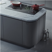 Opus High Gloss Dust Grey Kitchen Doors