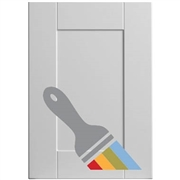 Shaker Paintable Sample Door