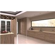 Sonoma Natural Oak Pisa Kitchen