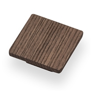 square-knob-wood