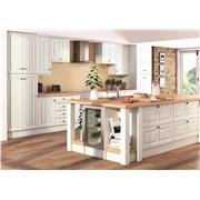 Super White Ash Milano Fitted Kitchen