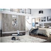 Zurfiz Driftwood Light Grey Bedroom