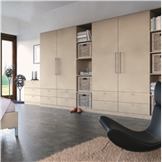 Zurfiz Ultra Matt Metallic Cashmere Fitted Bedroom