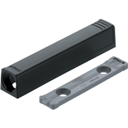 Blum Tip On Adaptor Plate Extended Version (Black)