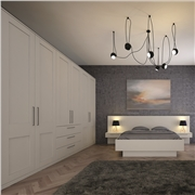 Bella Matt Dove Grey Bedroom