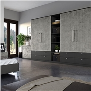 Smooth Anthracite and Boston Concrete