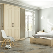 Bella Broadway Matt Dakar and Alabaster Fitted Bedroom