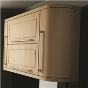Plain Curved Kitchen Doors