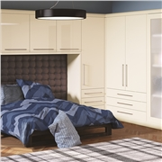 Bella High Gloss Cream Bedroom