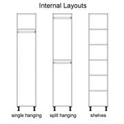 Clic Box Wardrobe Internal Layouts