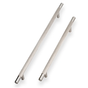 14mm Knurled T Bar (Brushed Nickel)