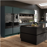 Zurfiz Serica Matt Kombu Green Kitchen Doors