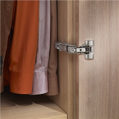 Blum 155 degree hinge application