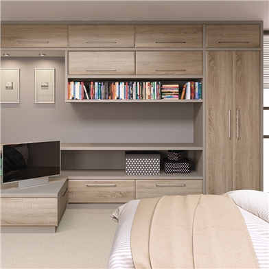 Bella Lincoln Sonoma Natural Oak Wardrobe Doors