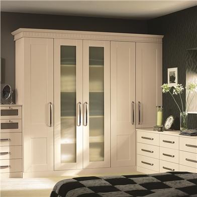 Bella Warwick Ivory Wardrobe Doors