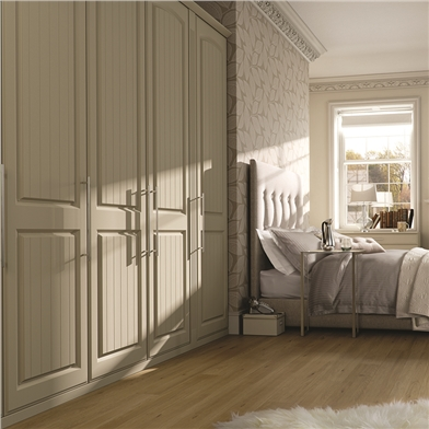 Bella Westbury Matt Dakkar Fitted Bedroom