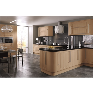 Canadian Maple Ashford Fitted Kitchen