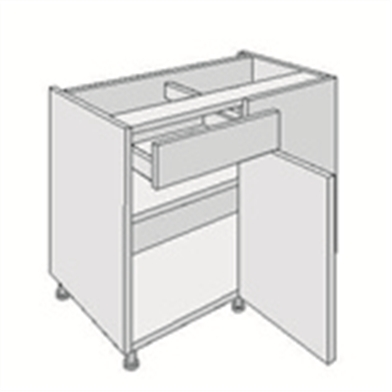 Drawline Corner Base Unit