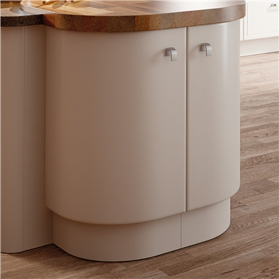 Bella Curved Kitchen Doors