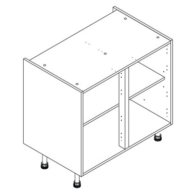 Drawer line kitchen base unit for Basic kitchen base units