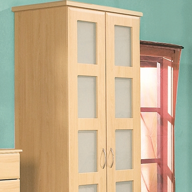 Five Hole Frame Wardrobe Doors