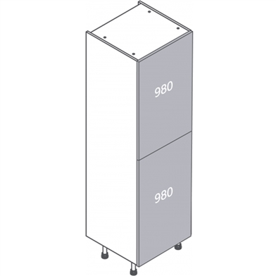Clic Box Full Fridge Freezer Cabinet