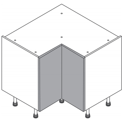 Clic box L Shaped Hi Line Base