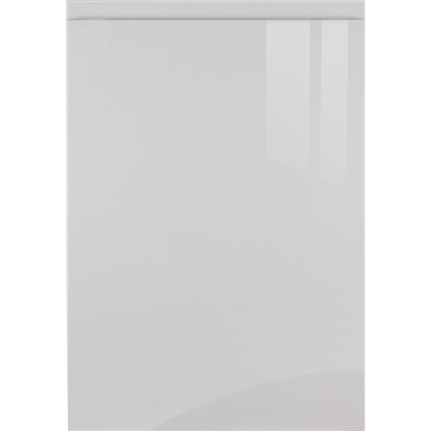 Pronto High Gloss Light Grey Sample Door