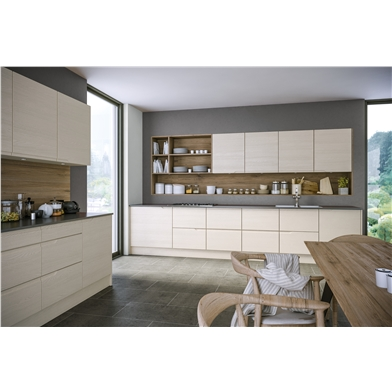 Oakgrain Cashmere Knebworth Kitchen