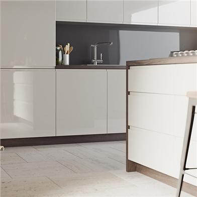 Gloss Mussel Opus Kitchen Doors