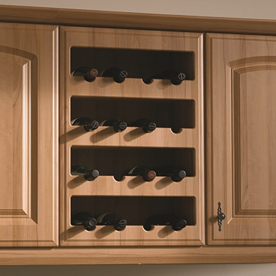 Plain Wine Rack Front