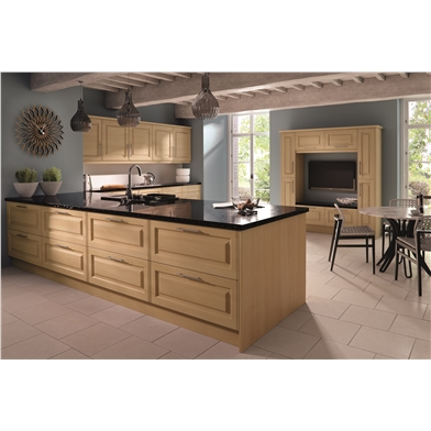 Steinberg Beech Tuscany Fitted Kitchen