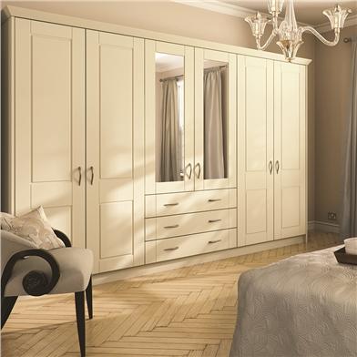 Open Framed Wardrobe Doors
