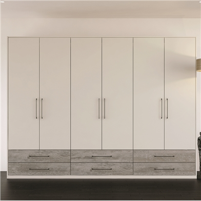 Valore Driftwood and Light Grey Wardrobe Doors and Drawer Fronts