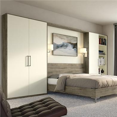 Truffle Brown Denver Oak Bedroom Panels