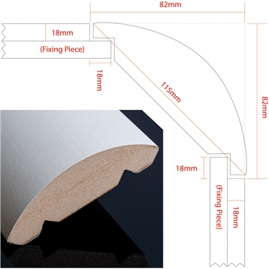Aspire Rounded Pilaster Guide