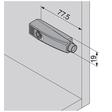 tip-on-adaptor-housing