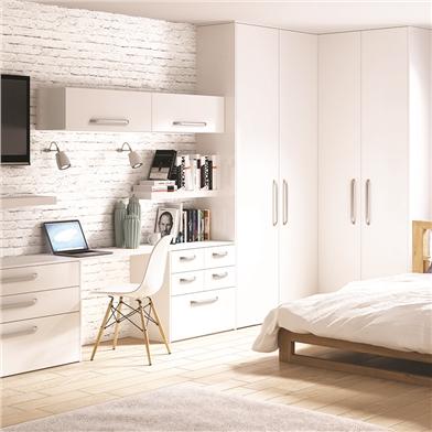 Bella Porcelain White Bedroom