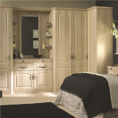 Fitted Corner Wardrobe - Doors Sincerely Furniture